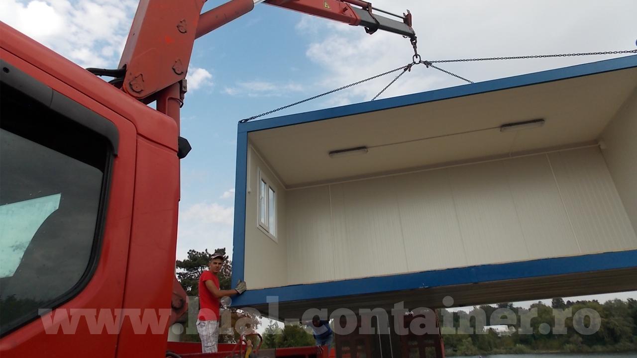 containere birou, containere magazie, containere de locuit sau cabină pază.